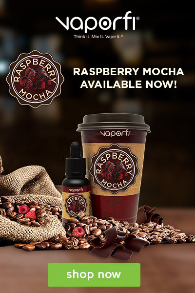 VaporFi Raspberry Moca Shop Now